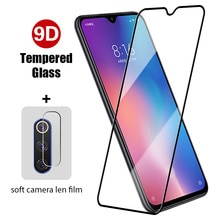9HD Front+Back Tempered Glass On Xiaomi Mi 10T 9T Pro 10 9 Lite SE Screen Protector On Xiaomi Mi A1