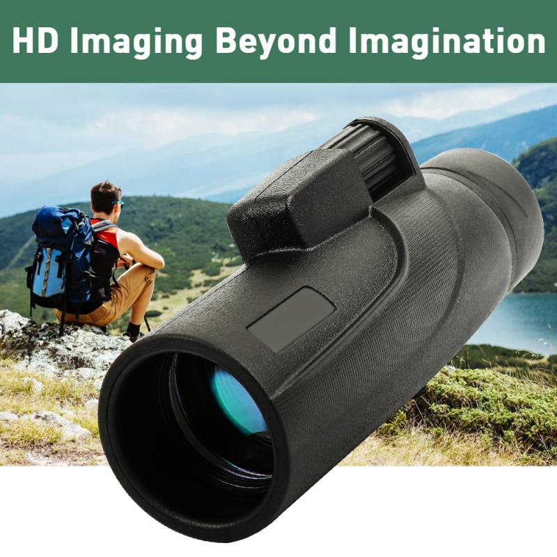 Lente para Smartphone Ferramentas de Acampamento ao ar Super Longo Alcance Monocular Telescópio Poderoso hd Zoom Livre 40*60