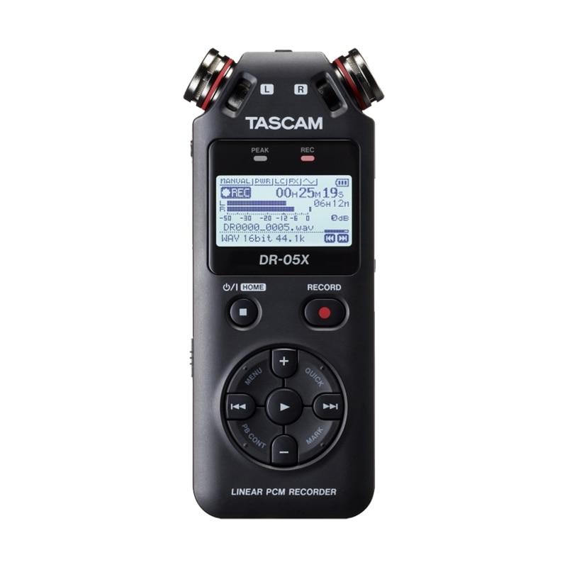 TASCAM DR-05X versión actualizada DR-05 portátil grabadora de voz Digital grabadora de audio MP3 pluma de grabación