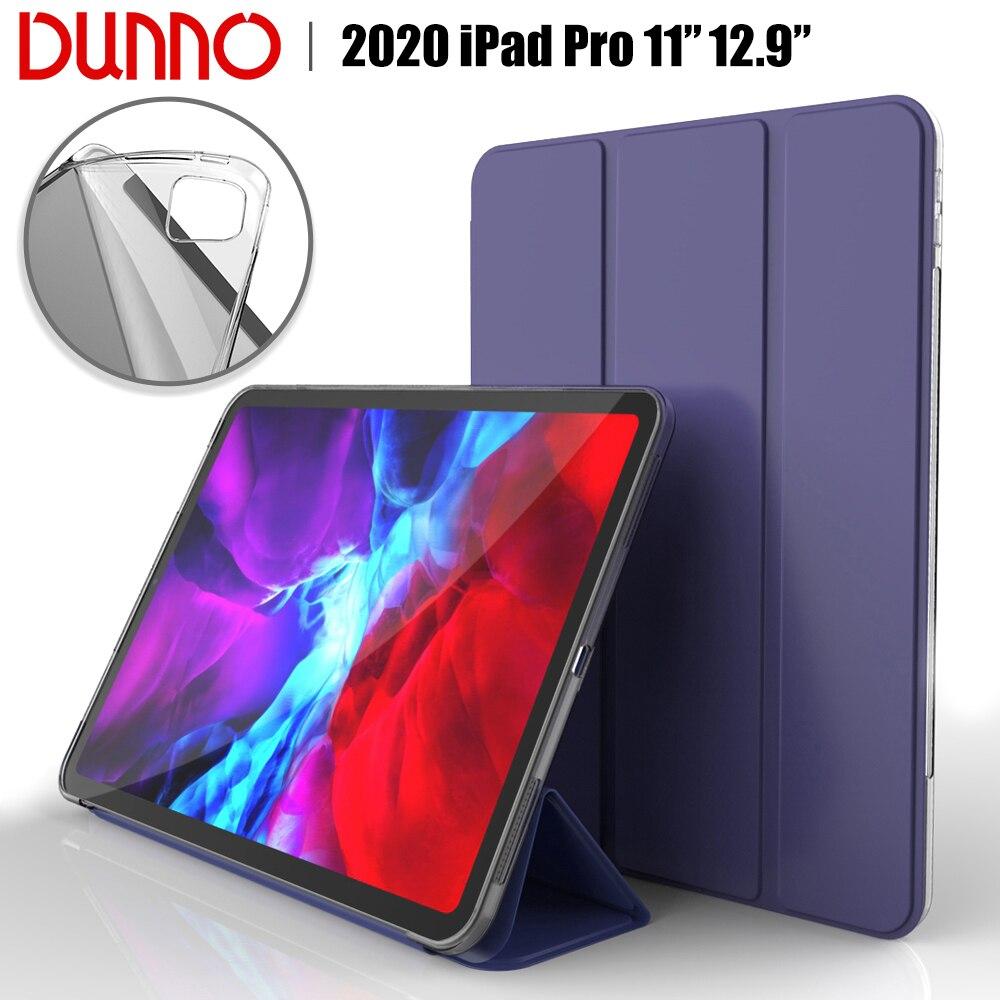 New 2020 iPad Pro 11 2nd Gen iPad Pro 2020 12.9 Case For 2018 iPad Pro 11 Case Soft silicone Cover Auto Sleep/Wake Smart Case