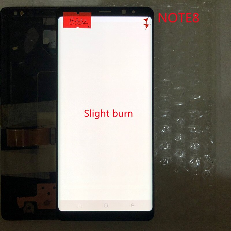 ORIGINAL SUPER AMOLED NOTE8 LCD with frame for SAMSUNG Galaxy NOTE 8 N950 N950F Display Touch Screen Digitizer With Defect enlarge
