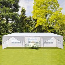 Tente étanche à huit côtés deux portes   Tube spiralé auvent de stationnement pour maison fête de mariage couvrant la tente solaire de pluie