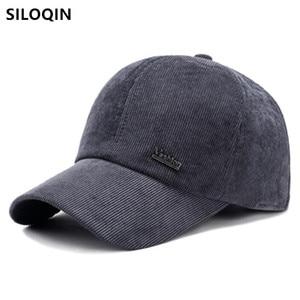 SILOQIN New Winter Warm Thick Cotton Baseball Caps For Men Women Cold Proof Earmuffs Hats Snapback Cap Fashion Couple Sports Cap