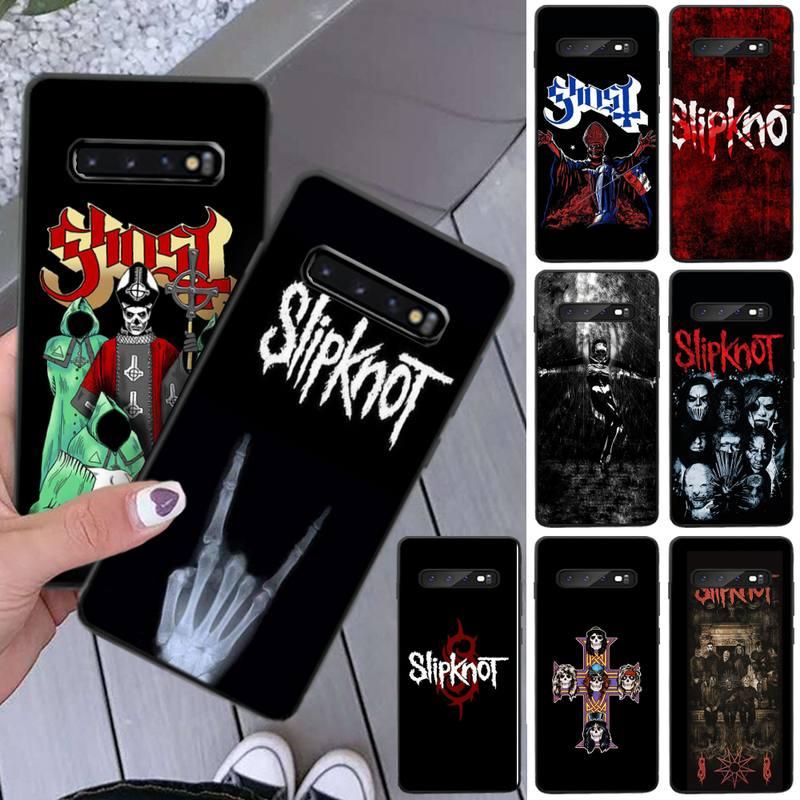 Mantin Slipknot Rock TPU funda de silicona suave para teléfono Samsung S5 6 7 8 9 10 S8 S9 S10 plus S10E lite S10-5G S20 UITRA plus