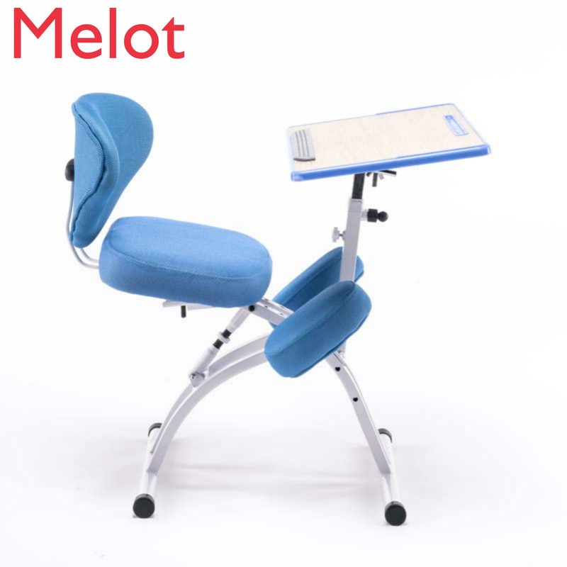 Adjustable Desktop Tablet Training Chair With Writing Board Height Angle Lifting Mesh Backrest bear 150kg