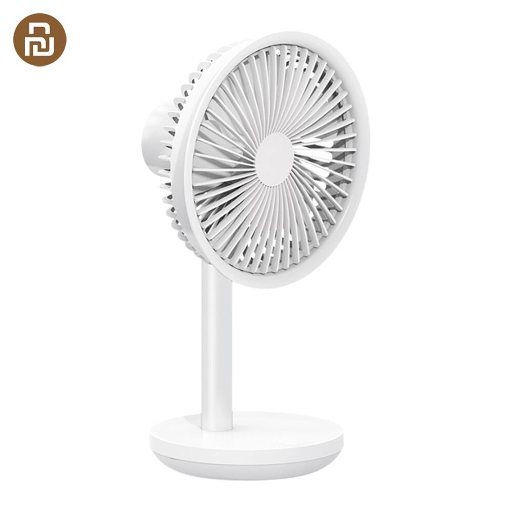 HOT Xiaomi Mijia Solove 5W USB Desktop Table Fan 3 Modes Wind Speed Cooling Oscillating Fan