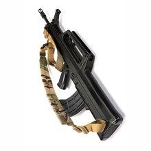 M4 Accessoires 2 Punt Vtac Gun Sling Verstelbare Militaire Riem Airsoft Milsim Schieten Rifle Sling Tactische Hunting Rifle Band