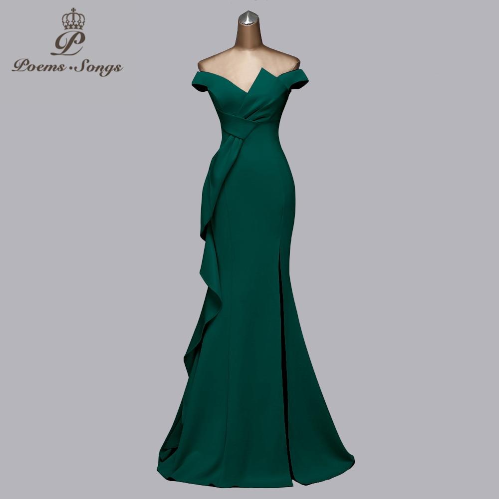 Beautiful new candy color evening dresses gree dress prom dresses mermaid vestidos de fiesta de noche women dress elegant