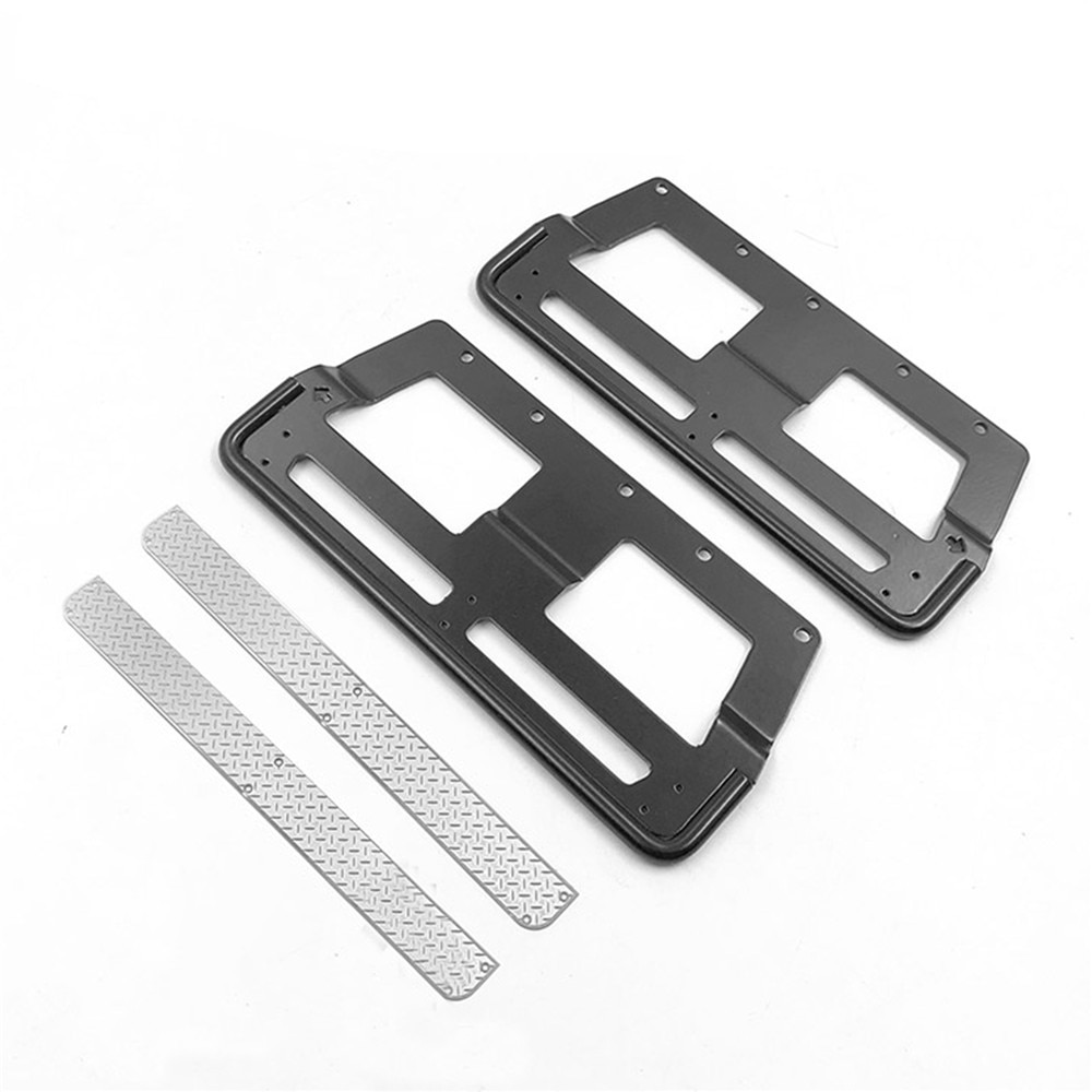 Metal Side Pedal Plate Step Sliders for BRX01 LC70 RC Crawler Car Upgrade Parts enlarge