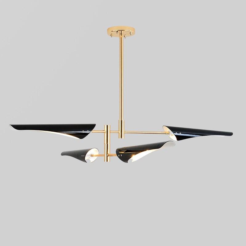 Postmodern Creative Individual Living Room Lamp Industrial Style Simple Hall Restaurant Nordic Style Designer Bedroom Chandelier