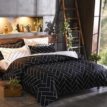 Funda nórdica y fundas de almohada 8 tamaño único doble completo reina rey tamaño 240/220*200*200x150 tela cepillada Ultra suave 200