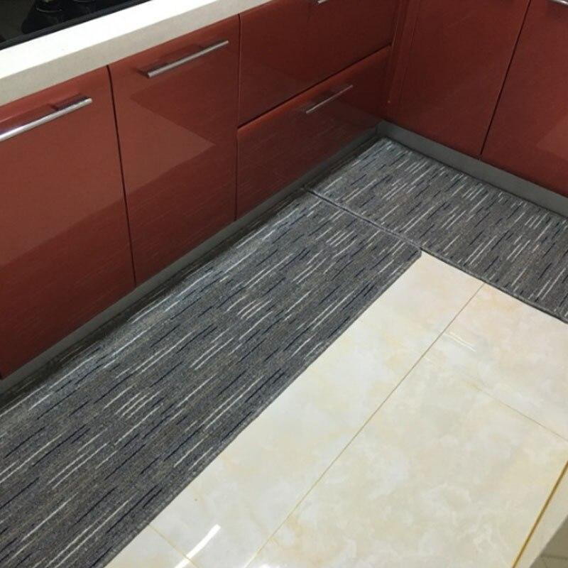 IBOWS-سجادة باب منزلية للمطبخ ، سجادة ماصة مانعة للانزلاق ، سجادة أرضية قابلة للغسل في الغسالة ، 50 × 80 سنتيمتر
