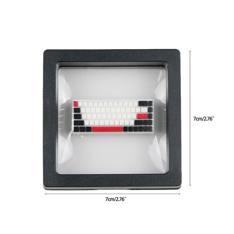 F19E مفتاح مخصص لوحة المفاتيح الميكانيكية Gameover لعبة نهاية العودة الراتنج شخصية TinyK الراتنج أدخل Keycap (لوحة مفاتيح صغيرة