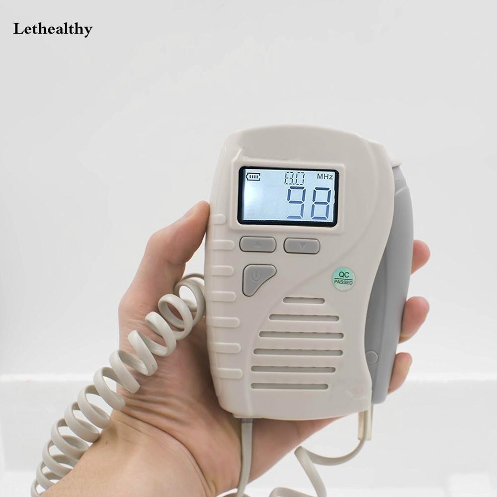 جهاز دوبلر الأوعية الدموية المحمول, شاشة LCD جهاز دوبلر الأوعية الدموية/جهاز استشعار معدل تدفق الدم