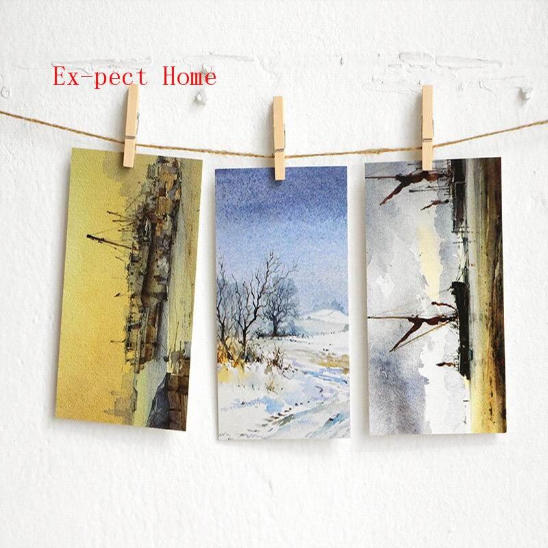 مشابك صور خشبية طبيعية صغيرة ، 25/35/45/5000 مم ، مشابك ملابس ، صناعة يدوية ، ديكور حفلات الزفاف ، 60/72 قطعة