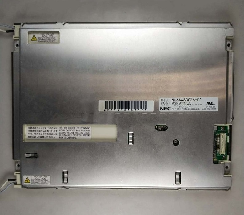 NL6448BC26-01 الأصلي 8.4 بوصة التحكم الصناعي شاشة LCD