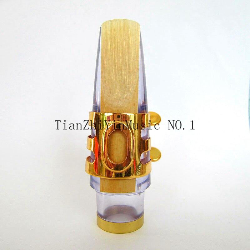 Excelente boquilla de saxofón de plástico Eb Alto