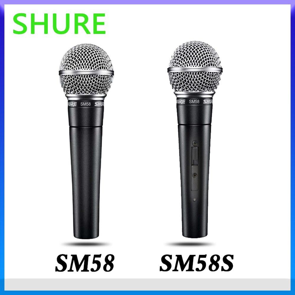 ميكروفون شور SM58/SM58S السلكية المهنية الصوتية القلب الديناميكي لأداء ميكروفون الكاريوكي KTV المرحلة