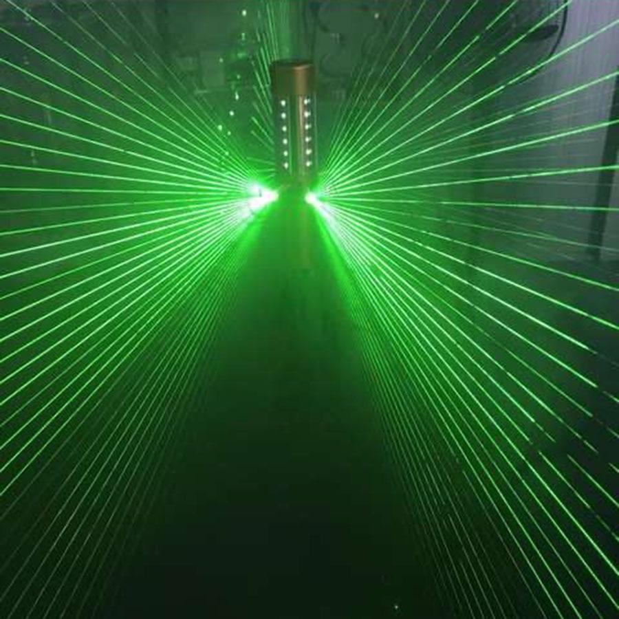Rechargeable 4 Head Laser LED Strobe Baton Champagne Bottle Stopper Flashing Stick Service Sparkler For VIP Nightclub Party Bar enlarge
