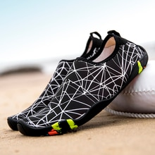 Swimming Shoes Men Water Sports Couple Sneakers Aqua Seaside Beach Surfing Slippers Light Slip On Upstream Athletic Footwear
