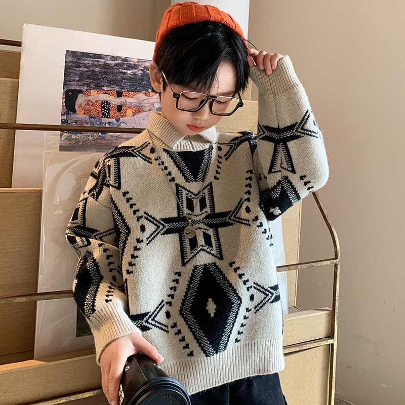 Boys Sweater Sweaters  Boy Kids Winter Clothes Baby 2020