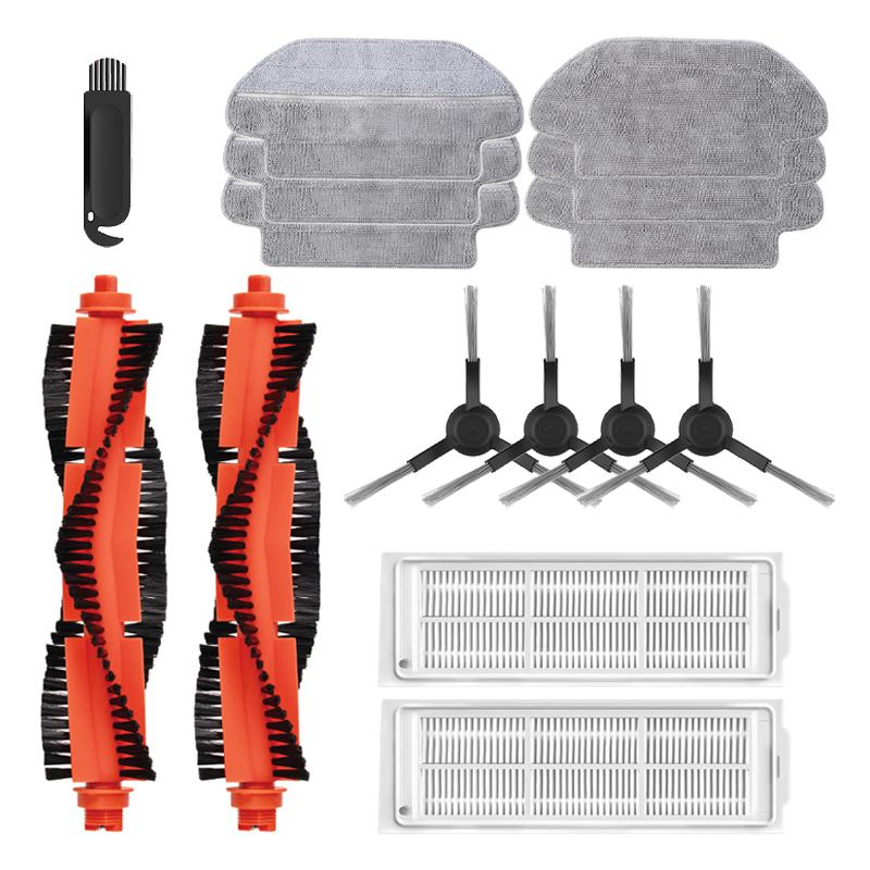 15/14/11/9pcs For XIAOMI MIJIA Robot Vacuum Cleaner STYJ02YM Parts Accessories Kits HEPA Filter Side Roller Main Brush Mop