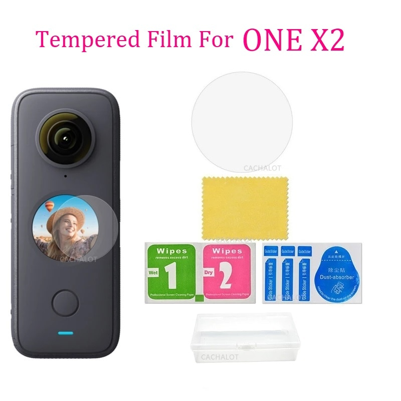 Insta360 ONE X2 Tempered Glass Film Screen Protector For Insta 360 ONE X2 Camera Accessory