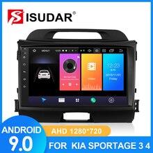 ISUDAR Car Radio For KIA/Sportage 2010 2011 2012-2016 2 din Android 9 Autoradio Multimedia GPS DVR Camera RAM 2GB ROM 32GB USB