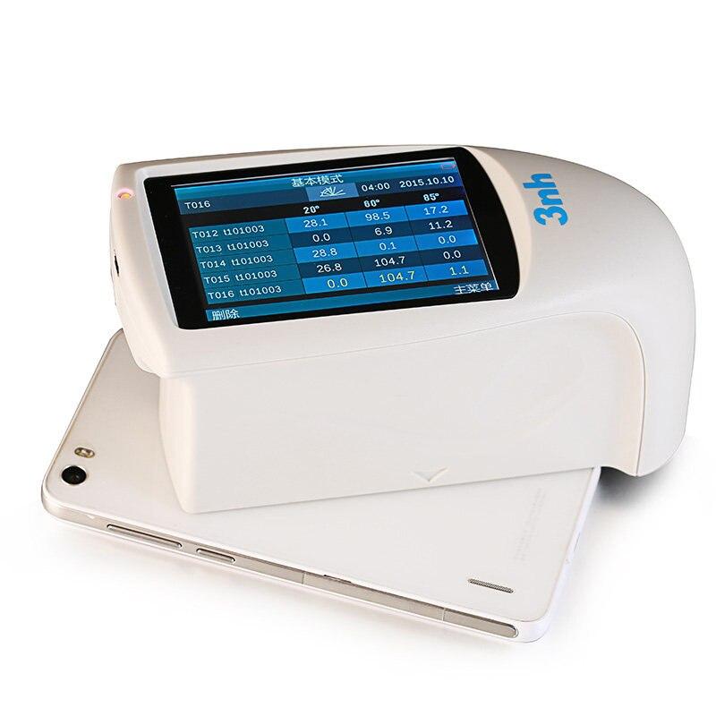 HG268-مقياس لمعان رقمي عالي الدقة ، جهاز اختبار لمعان الرخام والبلاستيك ، 20 درجة ، 60 درجة ، 85 درجة