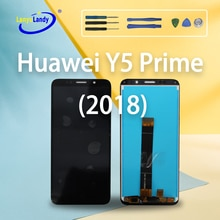 AAA+++ For Huawei Y5 Prime 2018 mobile phone, honor Y5 Prime 2018 LCD,5.45-inch capacitive screen mu