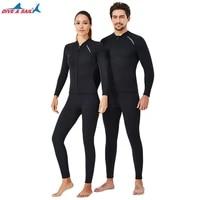 2mm premium wetsuit neoprene men and women diving swimming snorkeling surfing wetsuit suit split jacket pants 2021 new