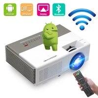 CAIWEI     Mini projecteur A3 A3AB  Android  1280x720P  compatible 1080p  WiFi  Bluetooth  pour films en exterieur