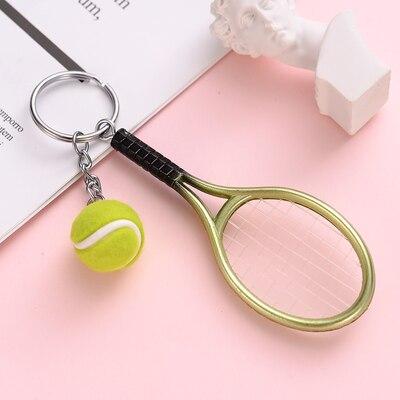 Lembrança chaveiro mini raquete de tênis chaveiro carro chaveiro mochila