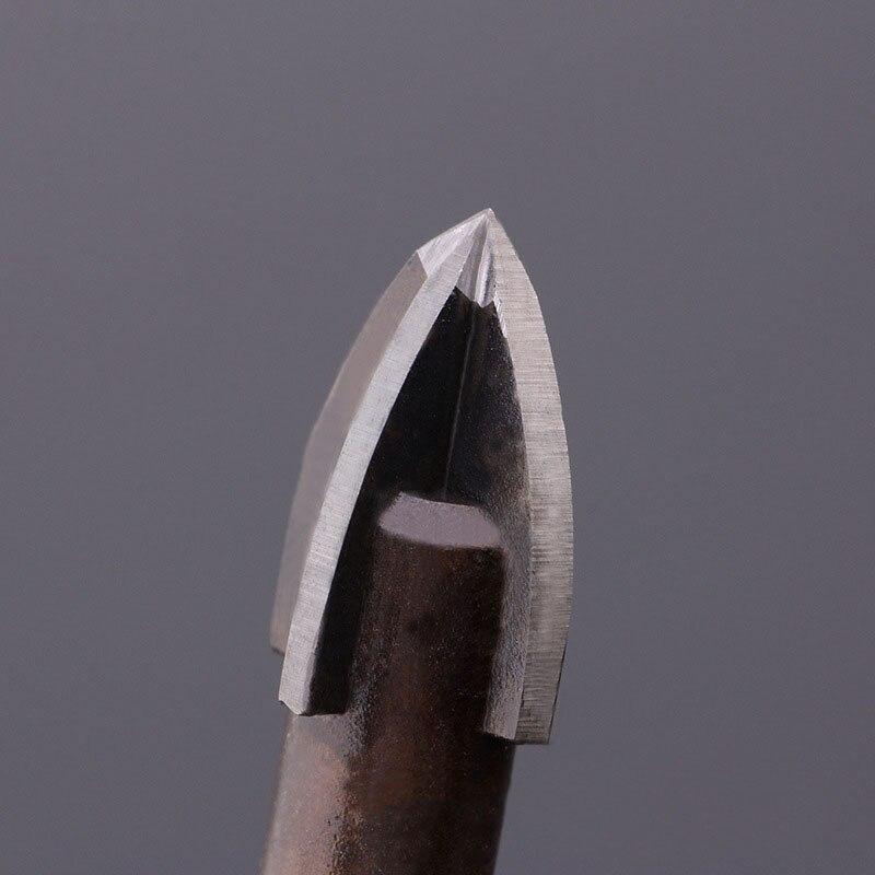 Volfrám-karbid üvegfúró, ötvözött keményfém hegy 4 - Fúrófej - Fénykép 5