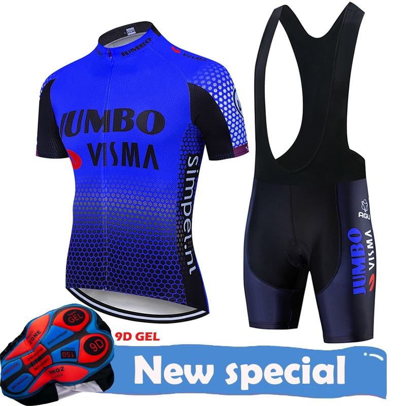 2020 JUMBO VISMA Pro Велоспорт Джерси набор MTB велосипедная одежда спортивная одежда велосипедная одежда Maillot Ropa Ciclismo комплект для велоспорта