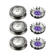 3Pcs Shaver Head Replacement Shaver Blade for  HQ3 HQ4 HQ55 HQ56 HQ6900 HQ6868 HQ5812 HQ6874 Razor B