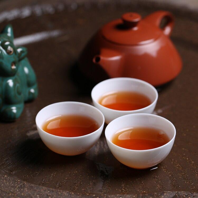 Chaoshan التقليدية الكونغ فو أكواب شاي صغيرة صغيرة أكواب من السيراميك اليشم الأبيض النقي الأبيض طقم شاي الكونغ فو عينة كوب الشاي