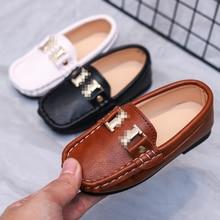 Kids Shoes Boys Shoes PU Leather Shoes Boys Loafers Soft Sole Boys Dress Shoes Kids