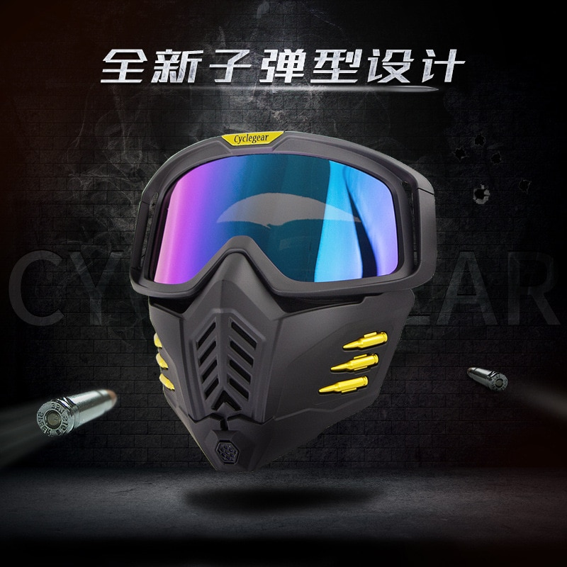 New motorcycle helmet goggles, sand proof tactical protective mask, goggles, riding glasses cg18