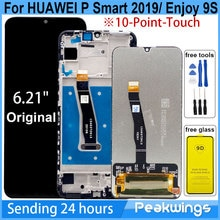 "6.21 ""LCD Für HUAWEI P Smart 2019 Display Touch Screen Display Montage Genießen 9S POT-LX1 L21 LX3 LCD für P Smart 2019 LCD"
