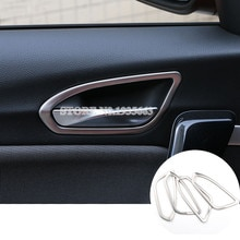 For BMW 1 Series F20 F21 Interior Car Door Handle Bowl Cover Trim 2012-2018 4pcs