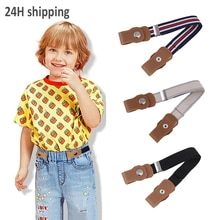 Cinturón elástico para niños y niñas, cinturón sin hebilla, encantador, para guardería, novedad de 2021