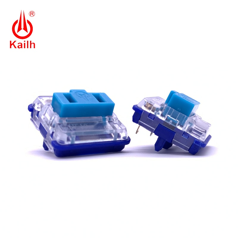 Kailh choc Low profile 25g Mechanical Keyboard Switch blue For Backlit Mechanical keyboard linear handfeeling 5pins