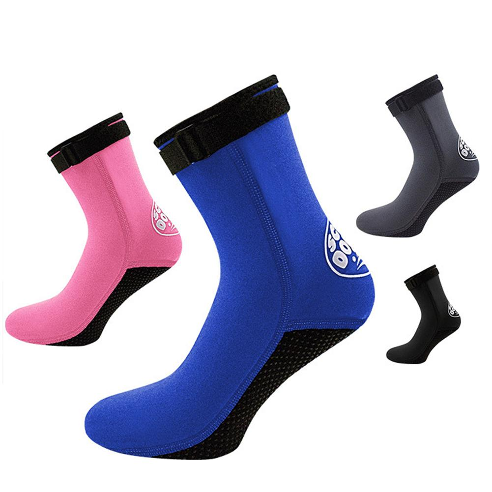 1 Pair 3mm Unisex Neoprene Diving Scubaing Surfing Snorkeling Swimming Socks Boots Outdoor Sports Ac