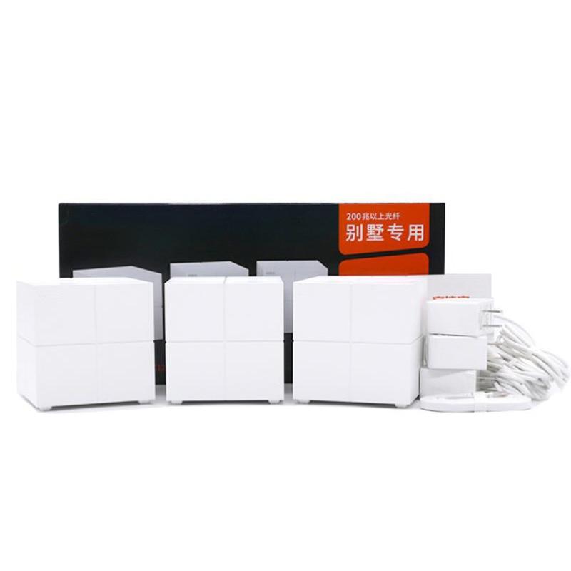 Tenda MW6 Mesh3 Nova Mesh Wireless Wifi Gigabit Router AC1200 Dual-Band Whole Home Wifi Coverage System Wireless Bridge Repeater