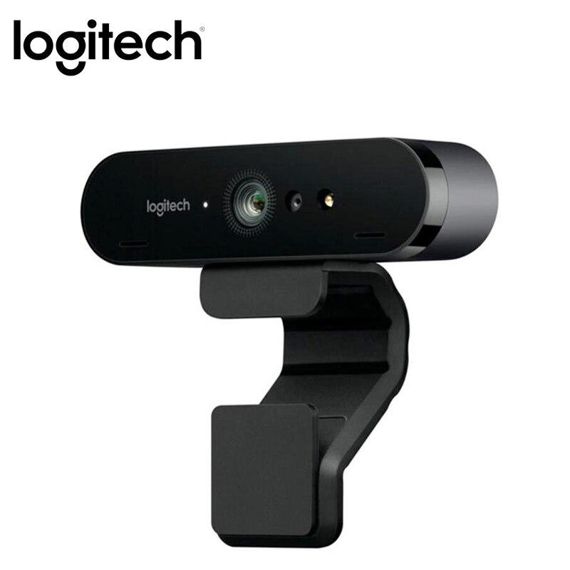 Cámara web 4K HD Logitech BRIO C1000e para grabación en Streaming de videoconferencia Compatible con ChromaCam para Windows