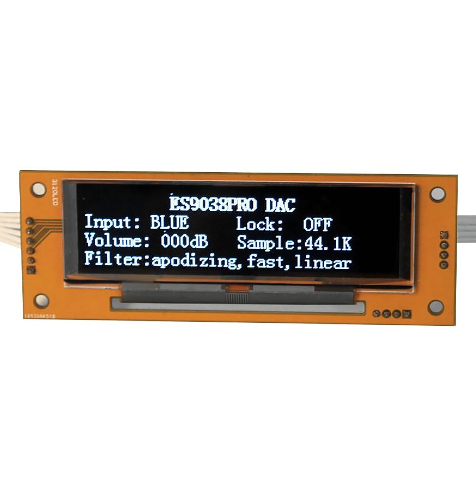 Aiyima Es9038pro Dac Decoder Csr8675 Bluetooth 5 0 Aptx 384khz Support Optical Fiber Coaxial Usb With 3 12 Inch Oled Display Amplifier Aliexpress