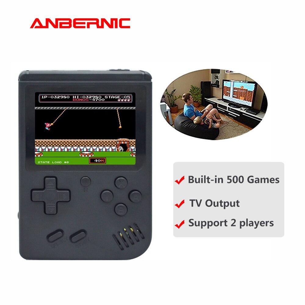 ANBERNIC-consola de videojuegos BittBoy versión Retro, Mini TV de 8 bits, 500...