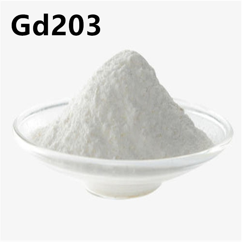 Gadolinium Oxide High Purity Gd2O3 Powder For Making Optical Glasses
