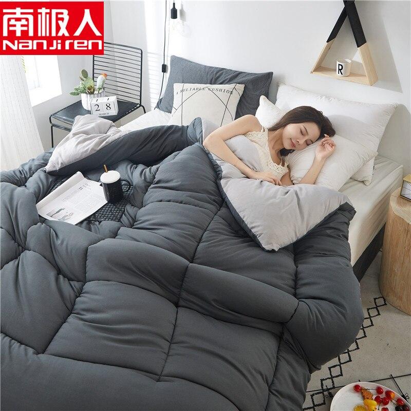 لحاف للصيف والشتاء لحاف سرير مفرد مزدوج 150*200 200*230 بطانية شعرية المعزون غطاء السرير اللحف المنسوجات المنزلية
